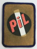 Public Image Limited - 'PiL Logo' Printed Patch